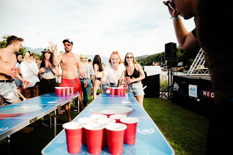 Beer Pong Austria auf LARS 2019